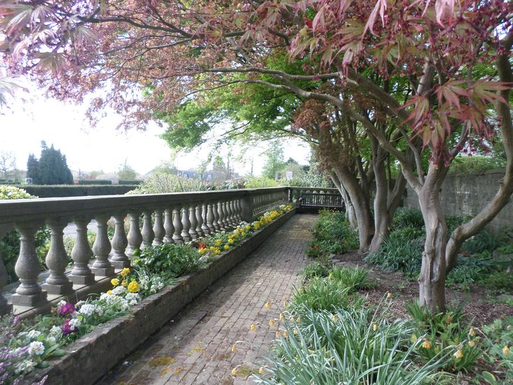 Spring terraces at Eastwell, photo by Liina