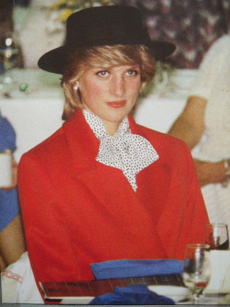 June 16, 1983: Princess Diana attending a Lobster Luncheon in Bridgewater, Nova Scotia. (Day 3)