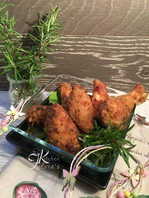 Fulvia's Kitchen - Ali di pollo croccantissime al forno