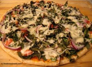Vegetarian: Power Pizza