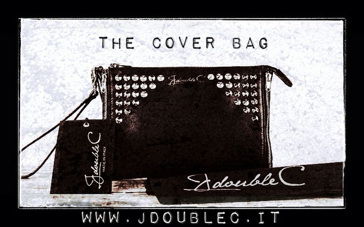 The Cover Bag ❤️ www.jdoublec.it