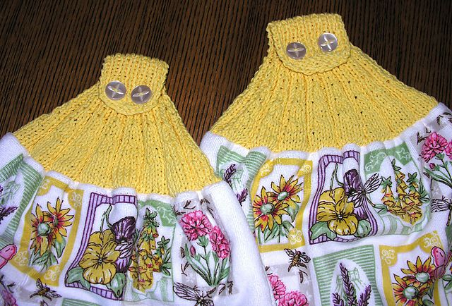 Ravelry Ribbed Towel Toppers Pattern By Kali Fitzgerald
