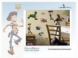 Roommates: Disney decoraties Toy-Story, decoratiestickers met glow in the dark