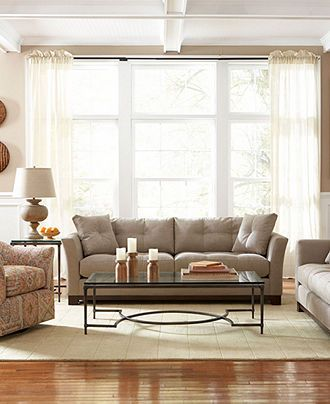 Michelle Fabric Sofa Living Room Furniture Collection