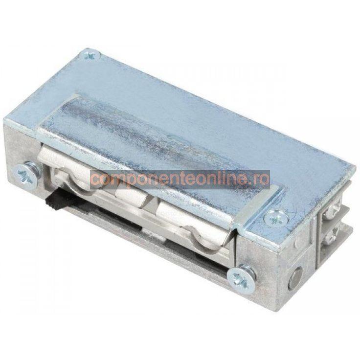 Yala electromagnetica, 24V, AC, DC, 18,5mm, cu intrerupator, Lockpol - 006955