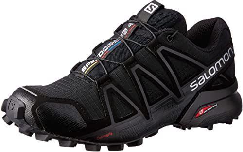 Best Seller Salomon Women S Speedcross 4 Trail Running Shoe Online In 2020 Black Running Shoes Trail Running Shoes Running Shoes