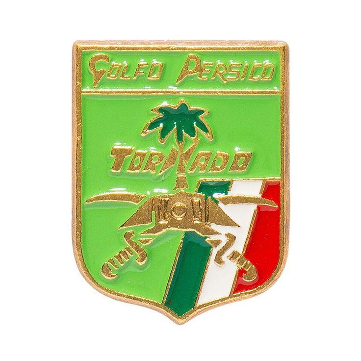Italian Persian Gulf Tornado Plane Pin