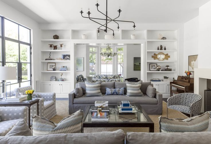SHM Architects | Greenbrier Dr | Living Space | Living Room