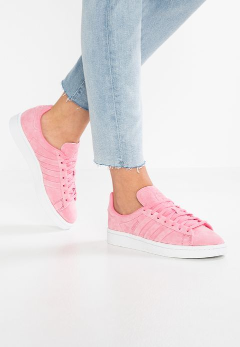outlet store 5c2a6 d5435 adidas Originals CAMPUS STITCH AND TURN - Sneaker low - chalk pink/gold  metallic - Zalando.de