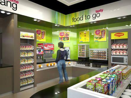 convenience store design - Google Search