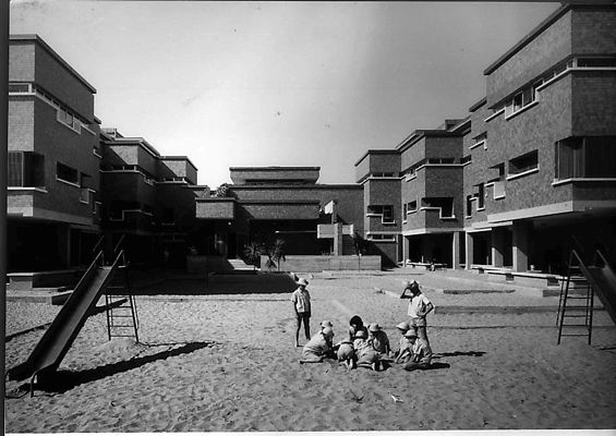 Children's summer colony at Riccione // Giancarlo de Carlo