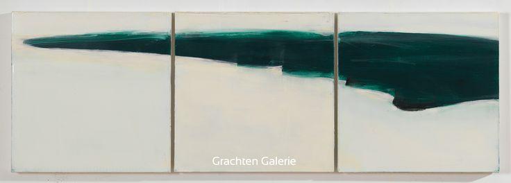 Z.t. 14 | Andre Hoppzak | Schilderij | Painting | Kunst | Art | Blauw | Blue | Wit | White | Grachten Galerie