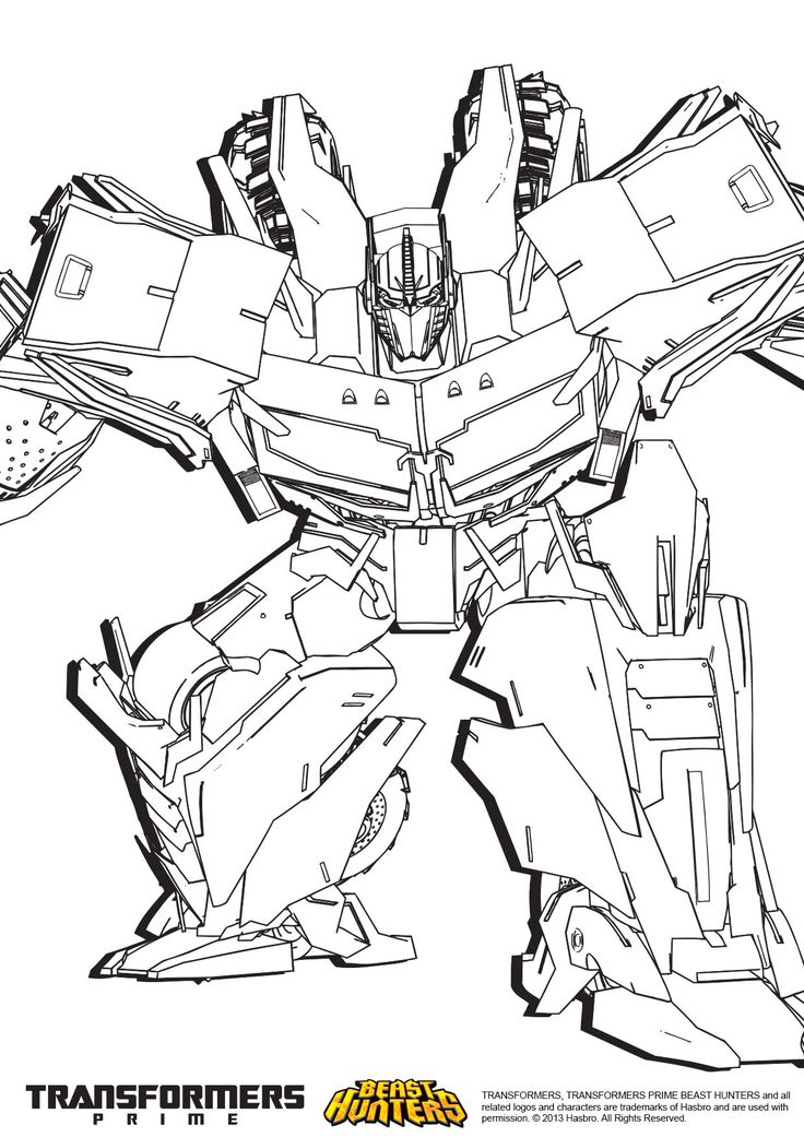 new transformers coloring pages - photo #45