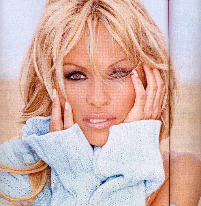 Pamela Anderson Make up by Alexis Vogel Pamela Anderson