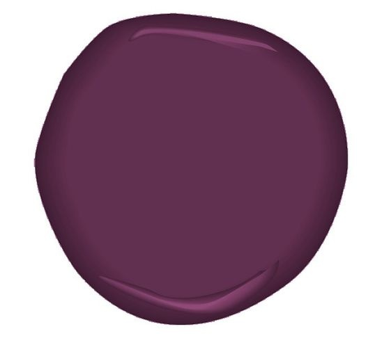 Products Deep Eggplant Purple Wall Paint