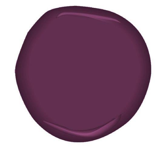 Products Deep Eggplant Purple Wall Paint