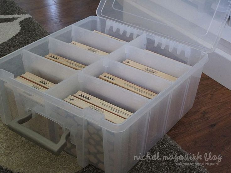 Design Block Background St& Storage - Artbin Super Satchel Double Deep Storage Box. & 148.0+ best Craft storage images on Pinterest | Organizers Offices ...
