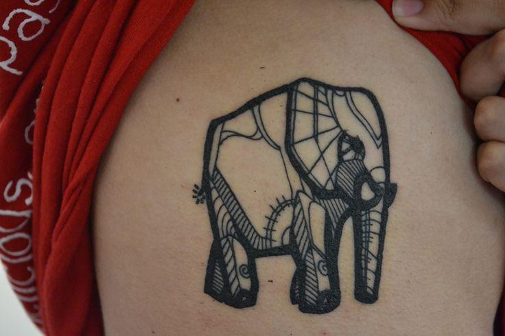 Fyeahtattoo Com, Ribs, Tattoo Piercing, Fountain, Art, Geometric Tattoo, Elephant Tattoos, Tattoo Ink, Alex O'Loughlin
