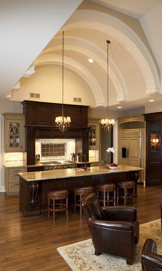 Gorgeous Kitchen - the ceiling!!