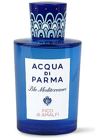 Acqua di Parma Blu Mediterraneo Fico di Amalfi by Acqua di Parma is a sweet, fresh, spicy, citrusy Floral Fruity fragrance with grapefruit, bergamot, lemon and citron in the top. Pink pepper, jasmine and fig in the middle. Cedar, fig tree and benzoin in the base. - Fragrantica