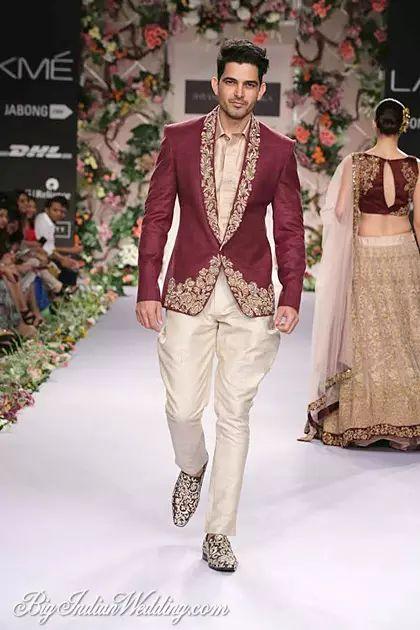 Shyamal & Bhumika men's collection 2014