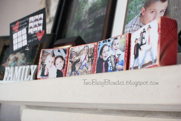 TWO BLONDES Enthusiastically Creating and Crafting EVERYTHING!: PHOTO BLOCKS!! Fun, creative way to display photosValentine'S Day, Display Photos, Photo Blocks, Diy Tutorial, Gift Ideas, Photos Block, Crafts Everything, Enthusiast Create, Blondes Enthusiast