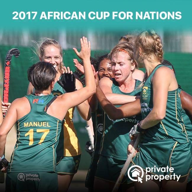 A huge congrats to the SA Womens Hockey Team for their 7th consecutive African Cup win!  #SAWomensHockeyTeam #HockeyTeam #RSAHockey #sport