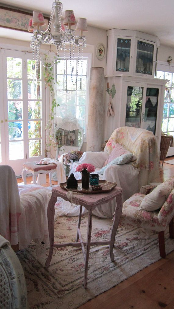 Romantic Living Room: 512 Best Shabby Chic/Romantic Decor Images On Pinterest