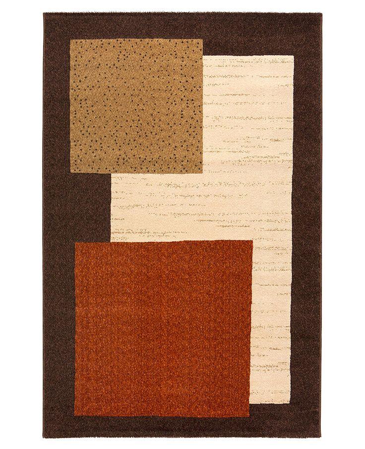 M s de 25 ideas incre bles sobre alfombra marr n en - Alfombras dibujos geometricos ...
