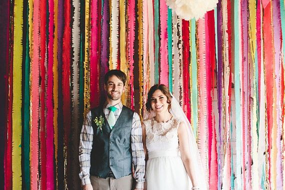 Fun crepe paper streamers in a variety of colors! Details:    This listing is for one roll of crepe paper measuring 1.75 wide x 81 long. In stock - ships