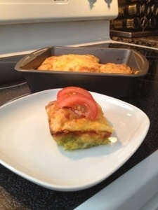 Green Chili Cheese Egg Bake! | Yum: Green Chile | Pinterest