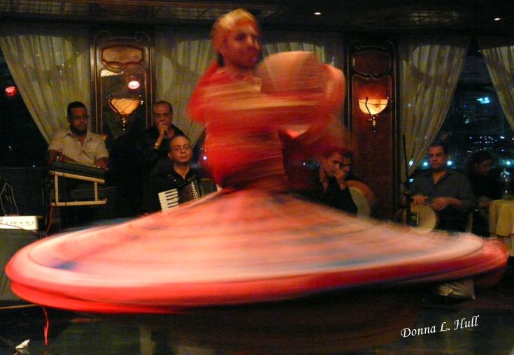Saturday's scene: A Whirling Dervish in Cairo, #Egypt