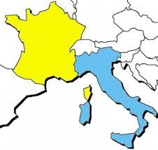 Carte France Italie Dessin.Carte Italie France Imvt