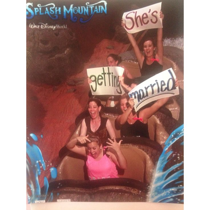 Bachelorette party in Disney World