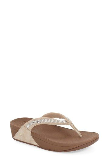 Crystal Swirl Flip Flop by Fitflop on @nordstrom_rack