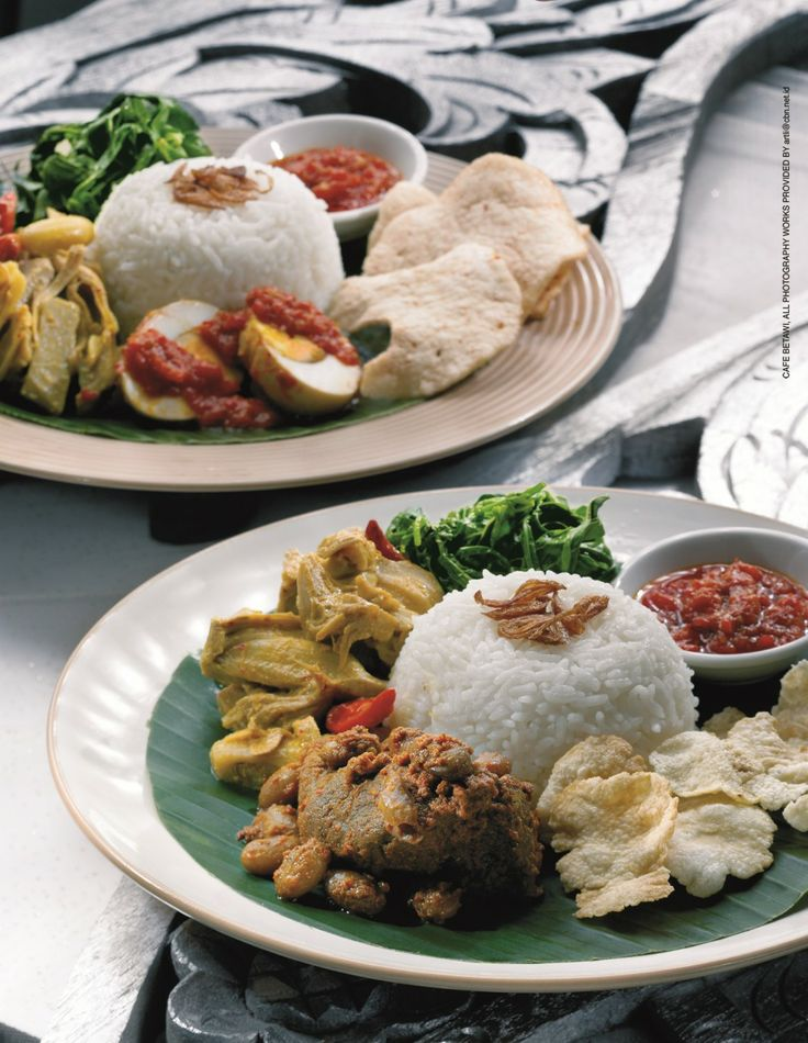 Come & enjoy delicious Indonesian food at Kafe Betawi. We look forward to seeing you!