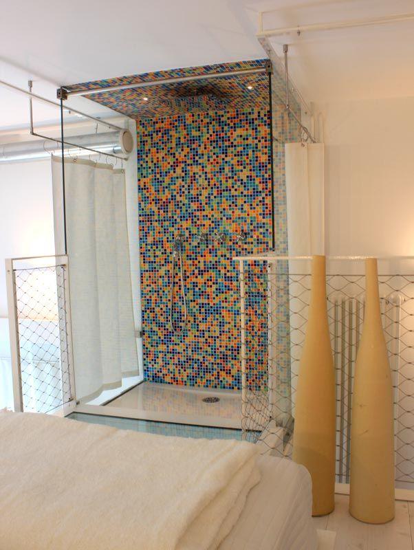 "Appartamento per vacanze ""Empedocle"", box doccia - Holiday rental ""Empedocle"", shower"