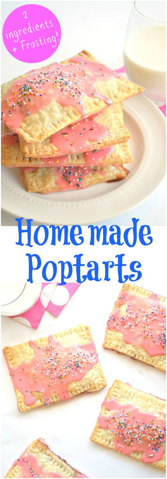 Homemade poptarts recipe blueberry jam homemade and for Easy jam tarts ready made pastry