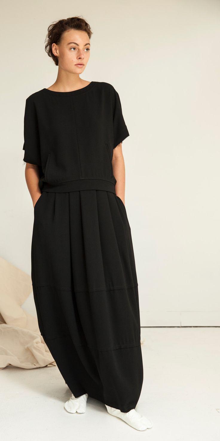 Lunar Coccon Maxi Skirt