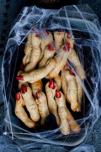 Fancy - Halloween finger cookies!!!