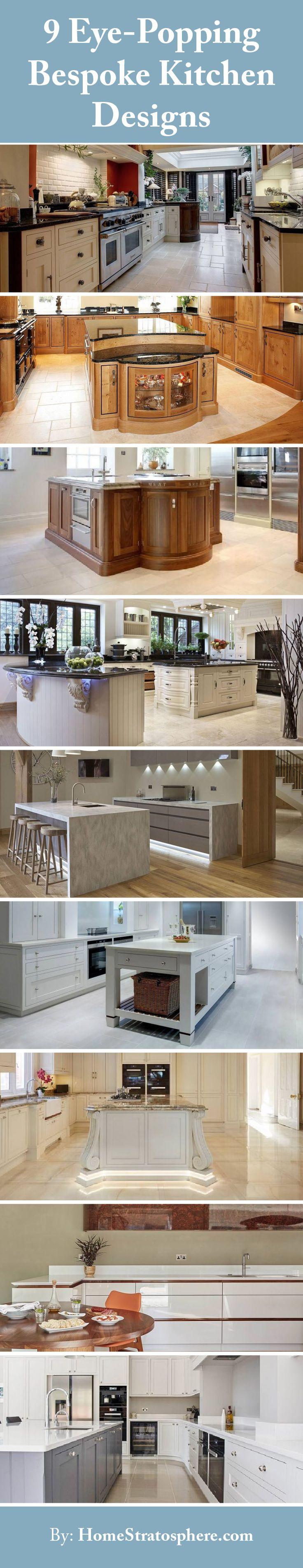 3644 best kitchen ideas images on pinterest kitchen for Bespoke kitchen ideas
