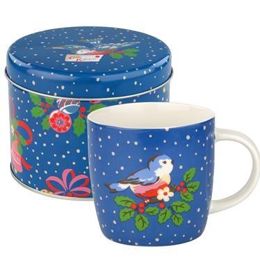 Cath Kidston -- Christmas Birds Mug