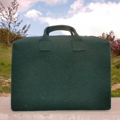 Burel bag - $33.63  - made with a high resistant traditional portuguese wool fabric... named #Burel!
