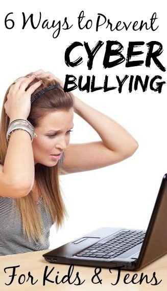 6 Effective Ways To Prevent Cyber Bullying For Kids & Teens:  The effects of cyber bullying are just as serious as that of bullying done in person. Often, a victim of cyber bullying may not present the 'symptoms' as those experienced in general bullying, which makes it difficult for parents to understand if their kid is really a victim.Here are some basics you need to know about what is cyber bullying for kids and some symptoms that may help you detect if your child is being bullied.