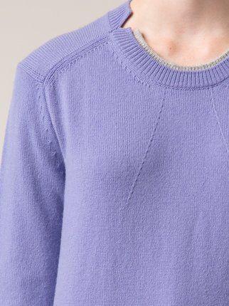 Jil Sander felted sweater