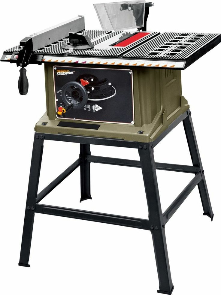 Rockwell  Table Saw w/ Stand tools drill wrench table saw lightweight workshop