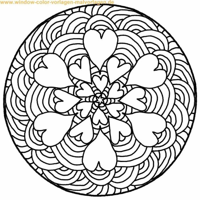 1001 Ideen Fur Originelle Und Kreative Mandalas Fur Kinder Mandala Zum Ausdrucken Mandalas Zum Ausmalen Ausmalbilder