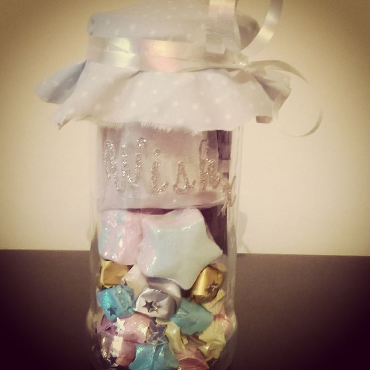 Stardust in a jar because stars are made for wishing on #moonback #handmade #personalised #magical #moonbackbaskets