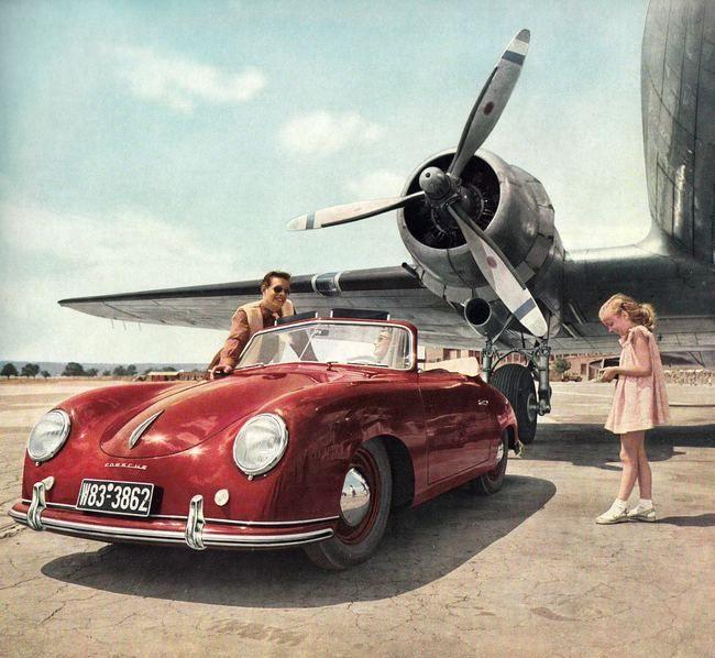 Porsche 356 & Douglas DC-3                                                                                                                                                      More