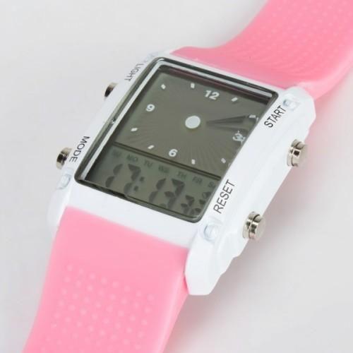 Analog & Digital  LED Wrist Watch